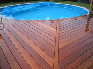Wooden Decking construction