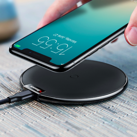 Wirelessly Charges Gadgets